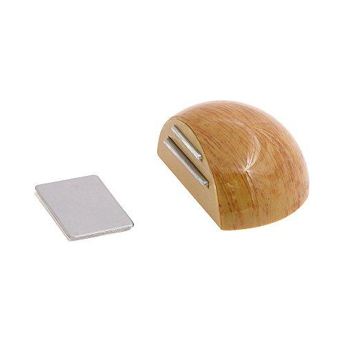 wolfpack-5320343-tope-puerta-adhesivo-con-iman-retenedor-color-madera