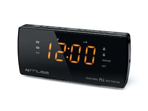 Muse M-185 CR - Radio (Reloj, Digital, FM, MW, LED, 3,05 cm (1.2