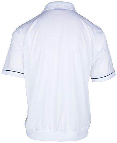 Polohemd Poloshirt für Herren von SOUNON, verschiedene Farben - Größe M bis 5XL Weiss (M4)