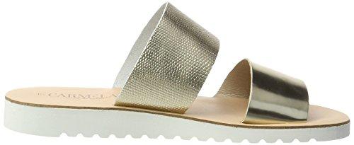 XTI Gold Metallic Ladies Sandals, Sandali Donna Oro (gold)