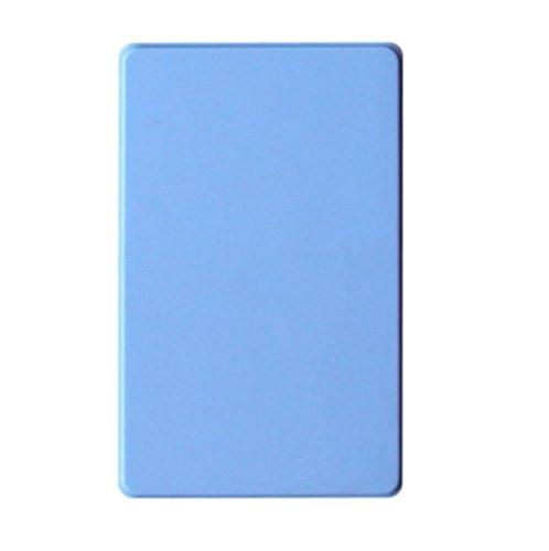 Caso para Discos duros externos 1tb baratos pequeños USB3.0 Sannysis External Hard Drives discos duros portatiles multimedia FUNDA para windows 98/2000/XP/Vista/Windows7 (Azul)