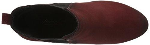 Andrea Conti - 1462726, Stivali bassi con imbottitura leggera Donna Rosso (Rot (Bordo 024))