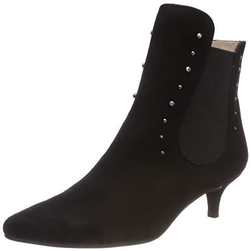 Unisa Damen Jaela_KS Chelsea Boots, Schwarz (Black), 39 EU