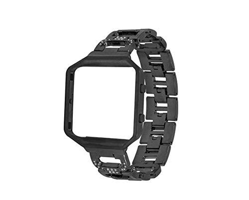 HDX für Apple Watch Armband Straps Fitbit Blaze Frame d-Schnalle Stahl Armband ersetzen Handgelenk Riemen Metall-Kette Armband
