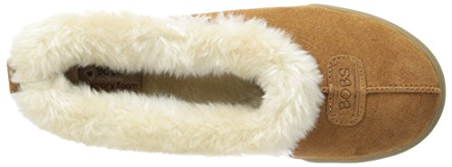 Skechers Mad Crush Snuggle In, Chaussons femme Marron (Csnt)