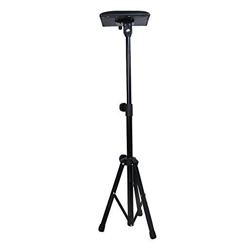 Vanyda Tatouage Bras Repose-pied Chaise portable réglable alimentation Studio Salon trépied support Noir