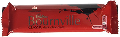 Cadbury Bournville Dark Chocolate Single Bar (Pack of 18)