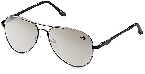 Flying machine Aviator Sunglasses (Black) (FMS-108|004/121|FREESIZE)  available at amazon for Rs.625