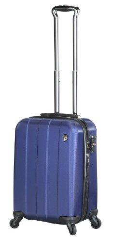 ... 50% SALE ... PREMIUM DESIGNER Hartschalen Koffer - Heys Crown Elite V Blau - Handgepäck Blau