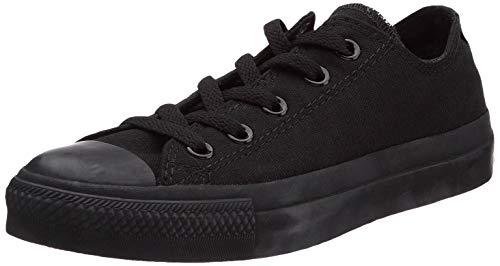 Converse Chuck Taylor All Star Season Ox, Zapatillas de Tela Unisex Adulto, Negro, 48 EU