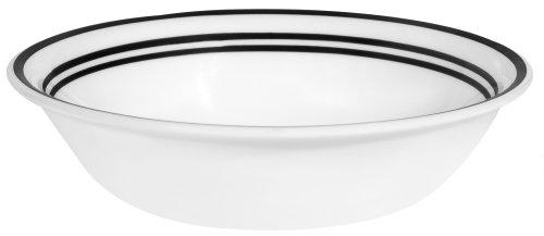 Corelle Livingware Soup/Cereal Bowl, 18-Ounce, Classic Cafe Black by CORELLE Corelle Classic Cafe