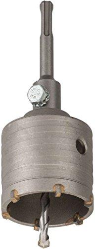 kwb Hohl-Bohrkrone Hartmetall, 68 mm Durchmesser-Größe, SDS Plus Schaft, schlagbohrfest. inkl. Zentrierbohrer