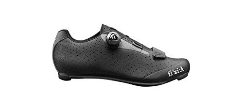 Fizik R5B Uomo Road Shoes Men black/dark grey 2016 Rennradschuhe Schwarz