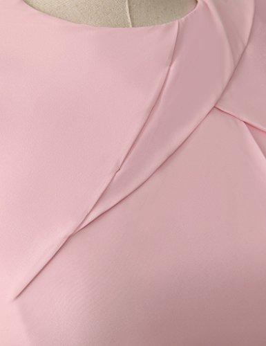 HUINI Damen Modern Kleid Mint