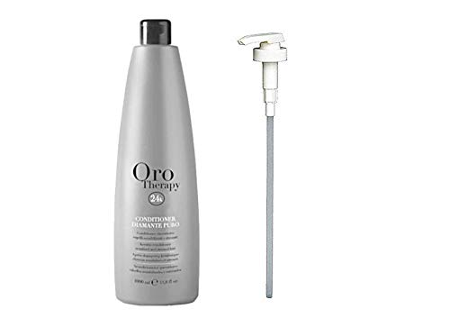 Scheda dettagliata Keratin Conditioner Diamante Puro 1Lt Sensitized & Stressed Hair Oro Therapy 24k ® Capelli Sensibilizzati & Stressati