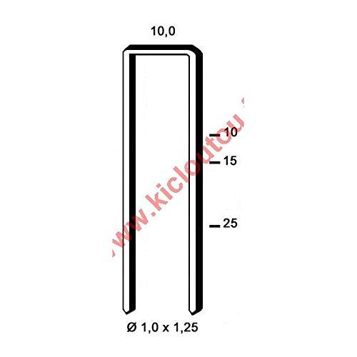 Agrafes G 4450 - 18 mm Galva - Boite de 10000