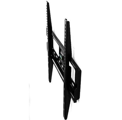 TV-Wandhalterung LED/LCD/Plasma, 42-65 Zoll, Stabile Ausführung, Mit Fischer Zubehör, starr/flach Universal Wand-Halterung für Fernseher | Fernsehhalterung, Aufhängung VESA Standard Fernseh-Wandhalter, Fernsehhalterung für Alle Hersteller wie Samsung, LG, Philips, Sony, Panasonic, Medion, Hisense