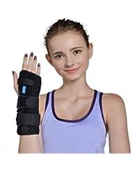 WANDAI Protector de la muñeca Derecha, articulación Protectora del túnel carpiano de la articulación de la Fractura de la muñeca (Tamaño : L)
