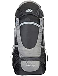 MOUNT TRACK Unisex Gear Up Nylon 75L Backpack(Grey)