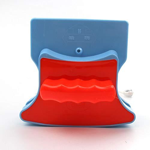 Fensterputzer Double Side Glass Wiper Mit Anti Falling Rope Für Doppelt Verglaste Hochhausfenster Mit 25-35mm / 18-30mm,red,25-35mm