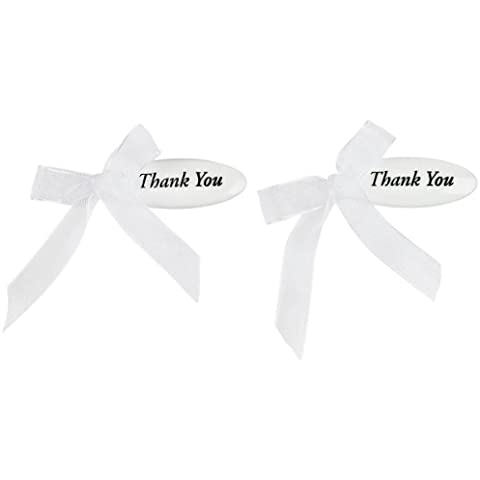 Etichetta Wilton Thank You matrimonio