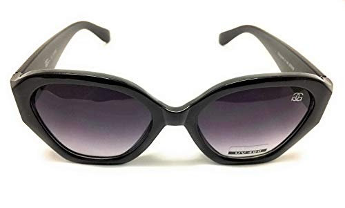 GG Eyewear Women es Designer Sonnenbrillen-Full UV400 Schutz-Women Fashion Sonnenbrillen-Modell: GGucineri Space With FREE Pouch and Case GT018-Black