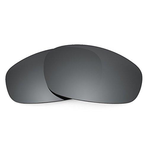 Revant Ersatzlinsen für Oakley Split Jacket Polarisierung Elite Schwarz Chrom MirrorShield®