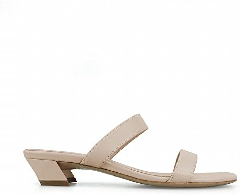 DHG Mot de des Mode avec des de Chaussures Courtes Et Porter des Femmes,Abricot,37B07FPG5XXQParent 233e7e