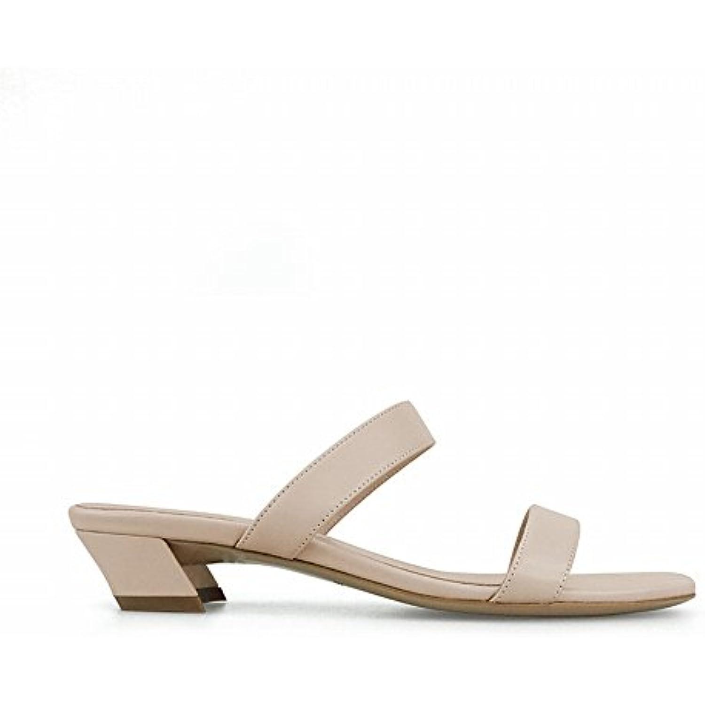 DHG Mot de Mode avec avec Mode des Chaussures Courtes Et Porter des Femmes,Abricot,35 - B07FPF9Q8F - 4f66f1