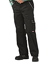 2144 Planam Thermohose Canvas 320 schwarz