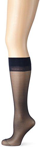 KUNERT Damen matte feine Kniestrümpfe, 172000 Mystique 20, Gr. 39/42, Blau (Marine 0880)