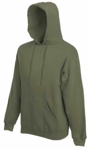 Fruit of the Loom - Kapuzen-Sweatshirt 'Hooded Sweat' XL,Classic Olive