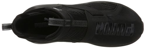 Puma Fierce Strap Swirl, Scarpe Sportive Indoor Donna Nero (Black-white)