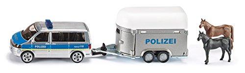 Preisvergleich Produktbild Siku 2310 Polizei-PKW mit Pferdeanhänger