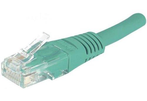 EXC 853920Kupfer/Aluminium CAT5e U/UTP Netzwerk Kabel-Grün -