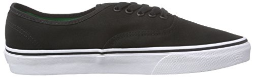 Vans Authentic, Unisex-Erwachsene Sneakers Schwarz (sport Pop/black/kelly Green)