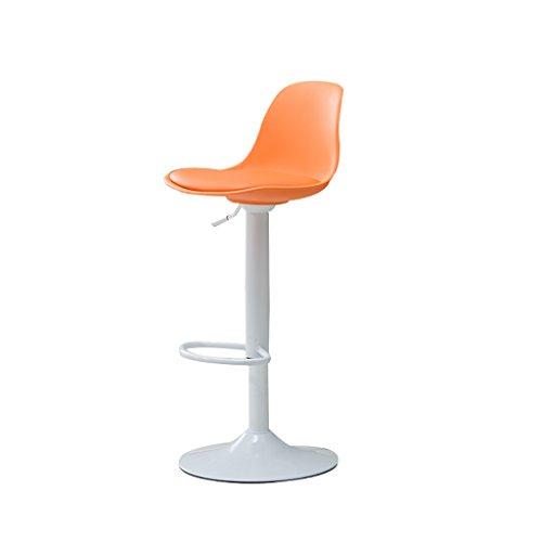XUEPING Barhocker/Stuhl Counter Chair 360-Grad-Drehung Lift Bürostuhl Küche Restaurant Bar Hocker/Stuhl Low Chair 5 Farben High Hocker (Farbe : B)