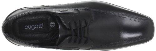 Bugatti U53031, Richelieu homme Noir - Schwarz (schwarz 100)