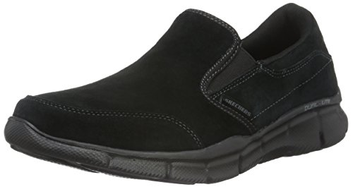 Skechers Herren Equalizer Mind Game Low-Top, Schwarz (BBK), 44 EU (Schuhe Für Herren Skechers-sport)