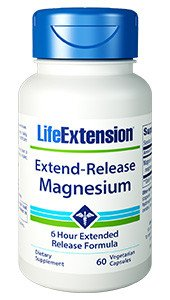 Release 60 Tabletten (Life Extension | Magnesium | verzögerte Wirkstofffreisetzung (extend-release) | 60 vegetarische Kapseln)