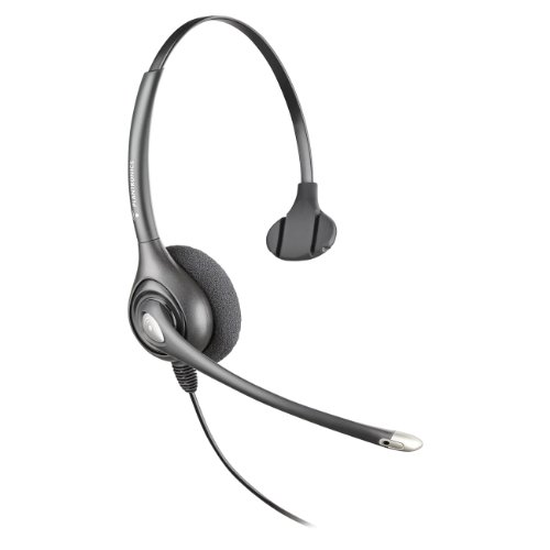 64338-31 SupraPlus Wideband NC Plantronics Supraplus Noise Cancelling Headset
