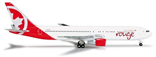 herpa-wings-1-500-modellino-aereo-b767-300-air-canada-rouge-importato-da-giappone