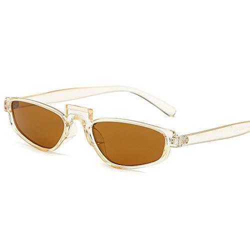 Yangjing-hl Europa und die Vereinigten Staaten quadratische Sonnenbrille Hersteller Mode kleine Sonnenbrille Metallscharnier Sonnenbrille durch Tee