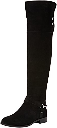 Carvela 7901200209, Stivali Sopra il Ginocchio Donna, Nero (Black), 38 EU