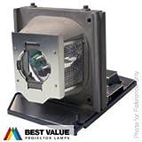 Alda PQ® - Original Beamerlampe / Ersatzlampe RLC-018 / P8384-1014 für VIEWSONIC PJ506 PJ506D PJ506ED PJ556 PJ556D PJ556ED / EIKI EIP-S200 EIP-S280 EIP-X200 EIP-X280 EIP-X320 Projektoren, Originallampe mit PRO-G6s Gehäuse / Halterung