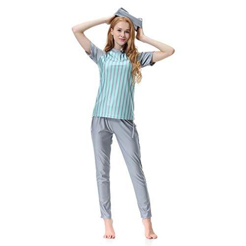 fec384f59d68 Heligen costume da bagno musulmano da donna, modest swimwear full length -  Scheda Completa