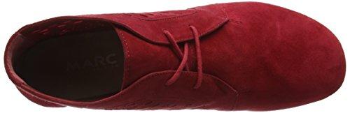 Marc Shoes - Janine, Stivali Desert a mezza gamba, senza imbottitura Donna Rosso (Rot (red 650))