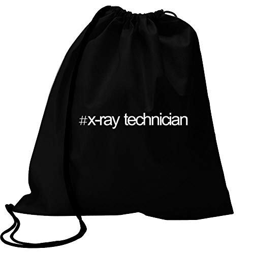 Bold X-ray (Idakoos Hashtag X Ray Technician Bold Text Turnbeutel 18
