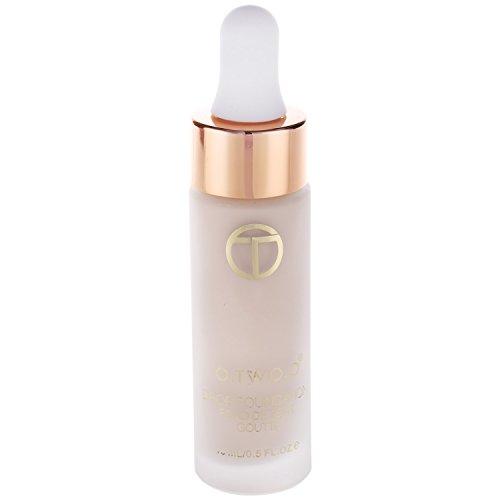 O.TWO.O Fluessige Foundation Set von Make-up Basis von Gesicht langlebiger fehlerloser Concealer Primer Make-Up Kosmetik NATueRLICHE FARBE GESCHMACKLOS