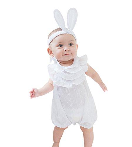 Byqny Spielanzug Outfits Bekleidung SommerKleidung Nachtwäsche Kleinkind Baby Mädchen Strampler Overalls Stück Hosen Rompers Jumpsuits